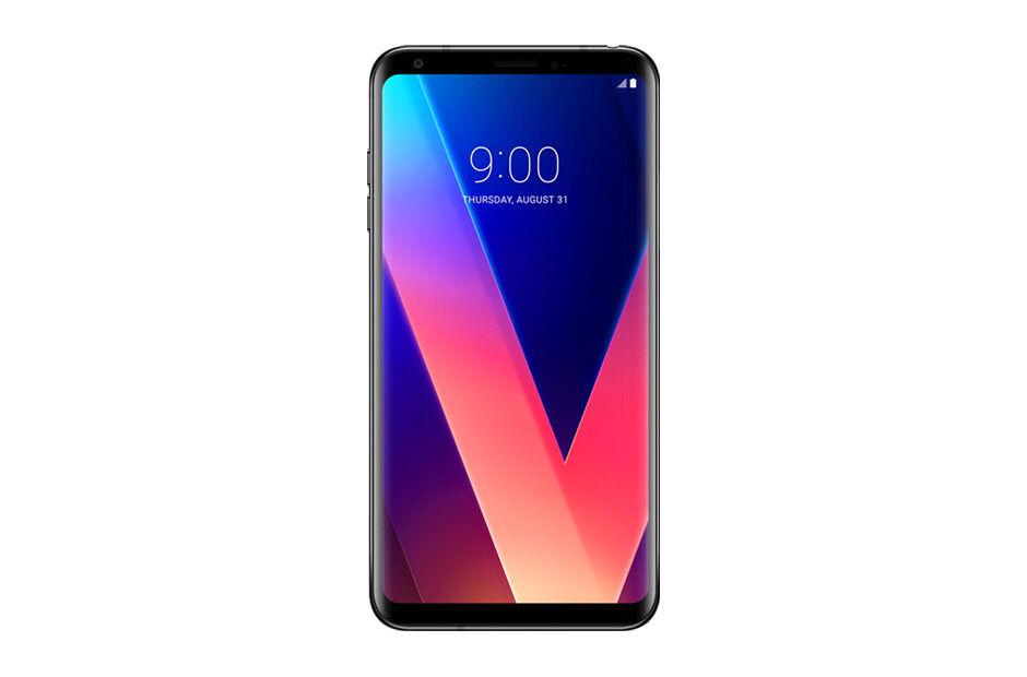 Android Phone - LG V30+ US998- 128GB - Titan Black (Unlocked) Smartphone Very Good
