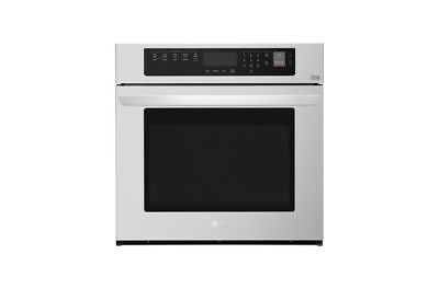 """LG - 30"""" Built-In Single Electric Convection Wall Oven - Sta"""