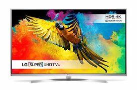 LG 49UH850V 49 Inch 3D SMART 4K Ultra HD HDR LED TV Freeview HD Freesat HD
