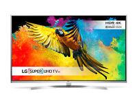65'' LG SMART 4K PREMIUM 3D HDR LED TV.2016 MODEL LG65UH750V. FREEVIEW HD. FREE DELIVERY/SETUP