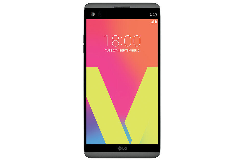 Android Phone - LG V20 H918 T-MOBILE 64GB 16MP Smartphone Titan Gray NEW!!