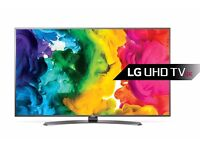 LG 65UH661V 65 Inch Smart 4K TV & HDMI Cable NEW WITH 5 YEARS WARRANTY.