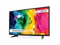 49'' LG SMART 4K HDR LED TV. MODEL LG49UH610. FREEVIEW HD . FREE DELIVERY