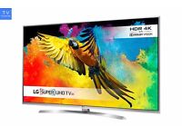 LG 49UH850V 49'' Ultra HD 4K Smart 3D TV with WebOS & Wifi & Freeview HD