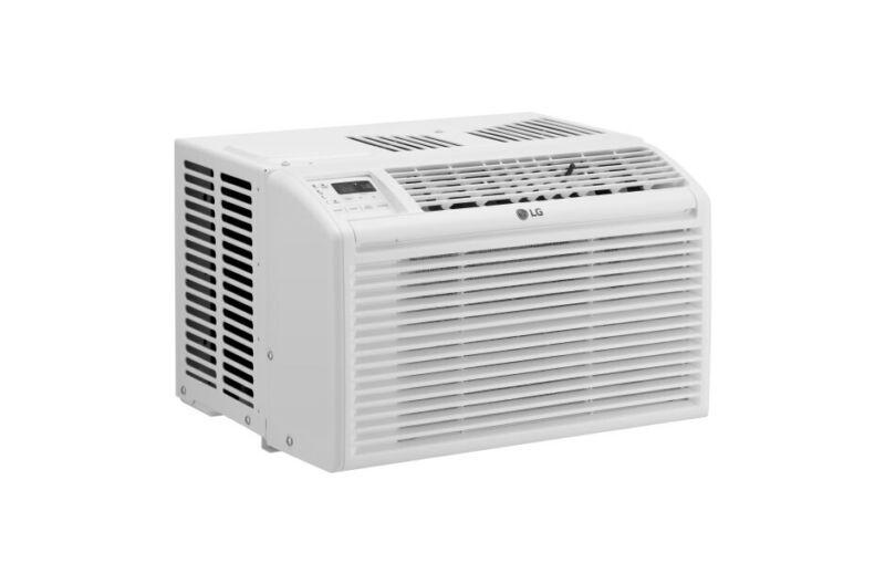 LG LW6017R 6,000 BTU Window Air Conditioner - White