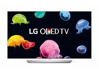 "LG 55"" OLED Curved Ultra Slim Smart TV 3D HD Full HD Twin Tuner HD TV Amzing Oled"