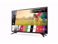 "Brand New LG 49"" inch Smart LED TV WiFi Full HD 1080p Freeview HD 49LH604V"