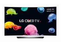 LG OLED55C6V Smart 4K Curved OLED TV