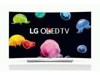 "LG 55 "" 55EG960V OLED 4K ULTRA HD CURVED 3D SMART T.V WiFi ."