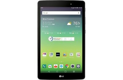 "LG G Pad X 8.0"" V520 AT&T 32GB Wi-Fi + 4G LTE Tablet 1-Year Warranty A"