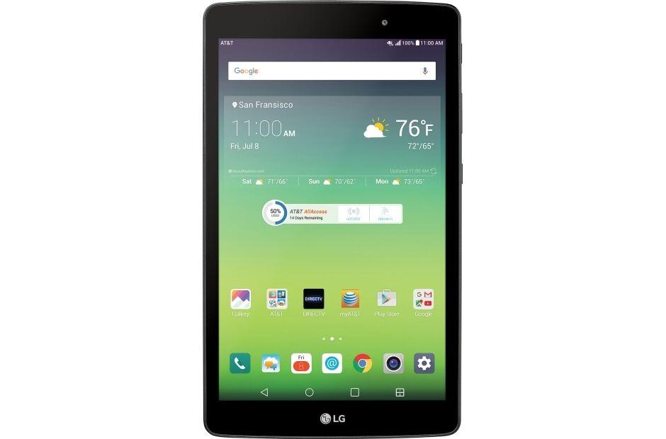 """New LG G Pad X 8.0"""" V520 32GB Wi-Fi + 4G LTE Tablet"""