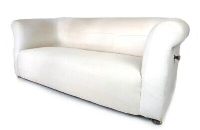 Late Victorian Chesterfield Drop Arm Sofa