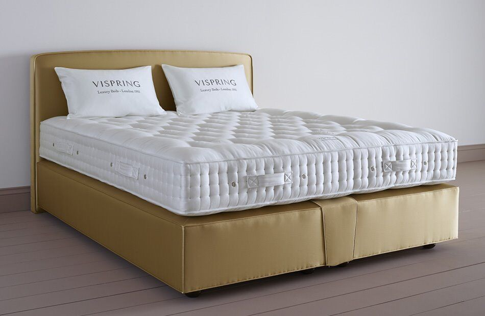 Vi Spring London Divan Bed Mattress Single Double King Super King Vispring  Harrison Free Delivery