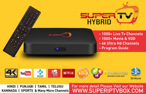Best Indian Continent TV - Real / Super Hybrid TV