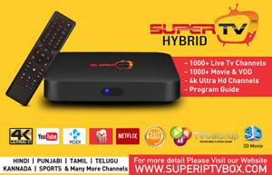 Real/Super Hybrid TV - Best Indian TV box Guaranteed
