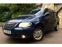 2005 CHRYSLER GRAND VOYAGER STOW AND GO 2.8 DIESEL AUTOMATIC HPI CLEAR 7 SEATER WITH M.O.T *BARGAIN*