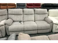 Grey recliner 3 seater + 2 x Armchairs