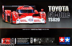 Tamiya 24222 1/24 Scale Model Car Kit Toyota GT-One TS020 1999 24 Hours Le Mans