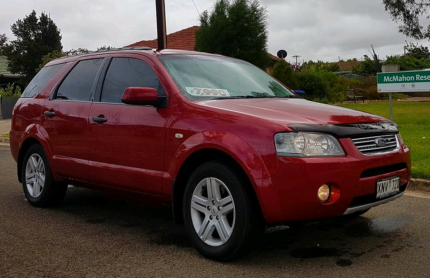2007 Ford Territory GHIA with Dual Fuel