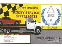 Recovery & cars transportation Trinity Service in Hastings East Sussex, London & all UK 07775836432