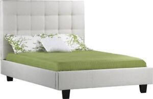 Upholstered Platform Bed **New**