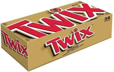 Twix Cookie Bars, Caramel🥛 🍫, 1.79-Oz each 36 PK 2DAYSHIP🇺🇲🇺🇲 READ 📖  (Twix Bars)