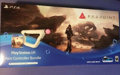Farpoint Ps Vr Bundle   Game   Aim Controller    Ps4  New