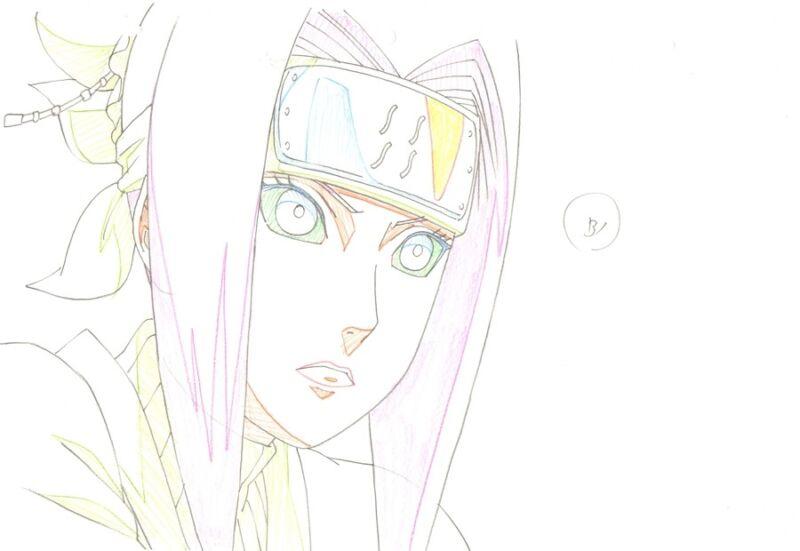 Anime Genga not Cel Naruto #214