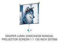 Luma 8ft cinema projector screen 135 inches
