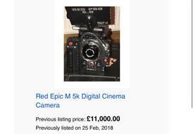 Red epic MX 5k