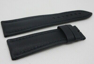 Blancpain Fifty Fathoms Blue Sailcloth Leather Strap 23mm OEM Genuine