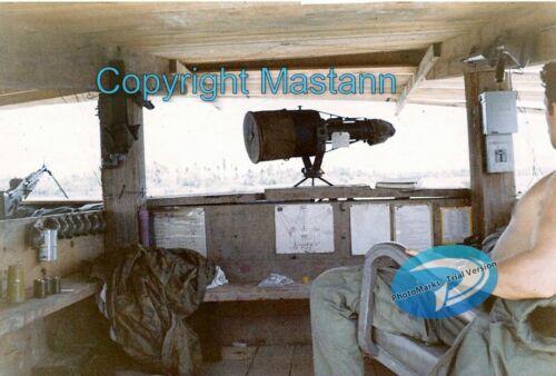 Inside a bunker on the Berm Tan An 9th Division Mekong Delta Vietnam War