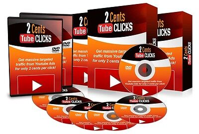 2 Cents YouTube Clicks- 39 Part Video Course On 1 CD