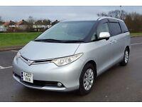 Toyota ESTIMA (PREVIA) Aeras 2.4L VVT-i. 8 seats. 07 Reg. Petrol. Auto. BIMTA auth. 74k miles.
