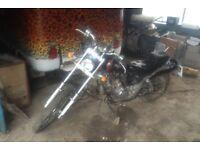 Ajs 50cc / 100cc Custom Chopper motorbike
