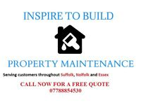 Inspire to Build - Proeperty Maintenace HandyMan Services