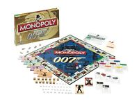 James Bond 007 Monopoly New Sealed