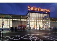 Sainsbury's Christmas Temps