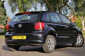 2014 VW POLO 1.2L BLACK 5DR MANUAL