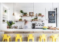 CHEF DE PARTIE at lovely cafe-restaurant in SW London, from £9 ph