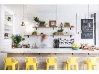 General Manager at popular cafe-restaurant: up to £34k