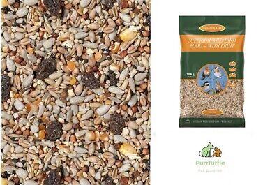 20KG JOHNSTON & JEFF SUPERIOR WILD BIRD FOOD SEED MIX WITH FRUIT