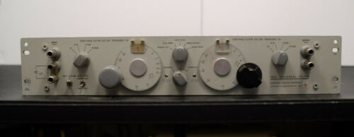 General Radio 1952 Universal Filter - Low / High / Band Pass and Band Reject