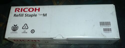 Ricoh Refill Staple Type M 413026 Box - 5 Cartridges