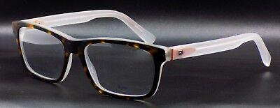 TOMMY HILFIGER TH 1361 K55 Men's Eyeglasses Frames 54-17-145 Havana / Crystal