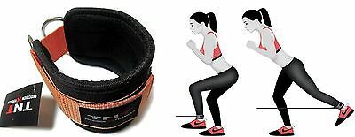 Gym Ankle/Foot Strap Cable Machine Attachment Single -ORANGE,Ab,Leg & Glute