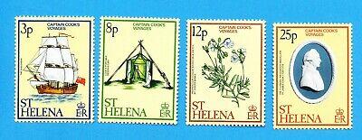 ST. HELENA - Scott 324-327, SG 347-350 - VFMNH - Captain Cook - 1979