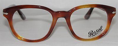 New MEN'S Authentic PERSOL Eyeglasses PO3052V 96 Tortoise ITALY 50mm