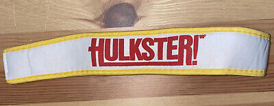 Hulk Hogan Kids Headband - Hulkster LJN Workout Set - WWE WWF Vintage Wrestling
