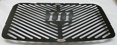 TRIUMPH ROCKET III 3 04 BEOWULF BLACK RADIATOR PROTECTORGUARD T021